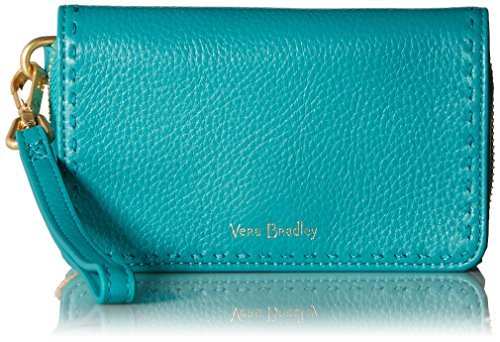 Vera Bradley Rfid Mallory Smartphone Wristlet, Turquoise Sea by Vera Bradley