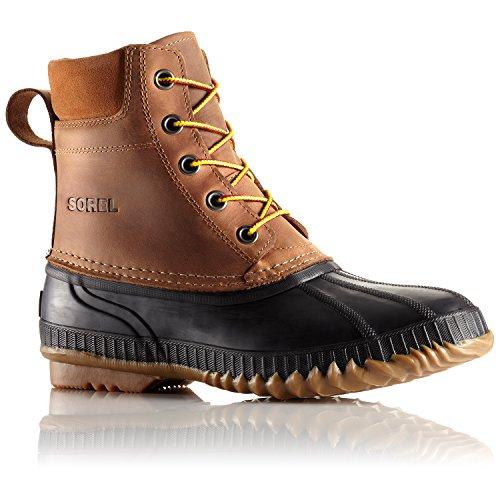 Sorel Men's Cheyanne Lace Full Grain Rain Boot,Chipmunk/Black,11 M US