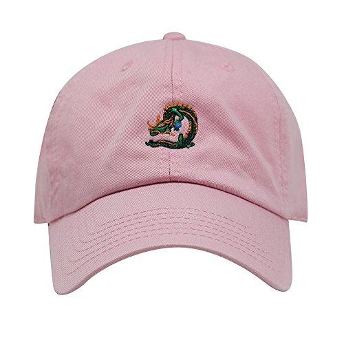 Price comparison product image ChoKoLids Dragon Ball Design Dad Hat / Cotton Baseball Cap / 6 Colors (Light Pink)
