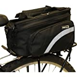 PedalPro Rear Bicycle Rack Bag with Fold Out Pannier Pockets