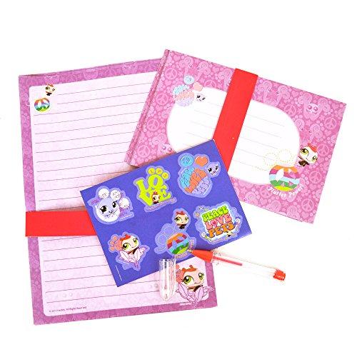 WDK Partner A1003800 - Fournitures scolaires - Set de papier à lettre Petshop