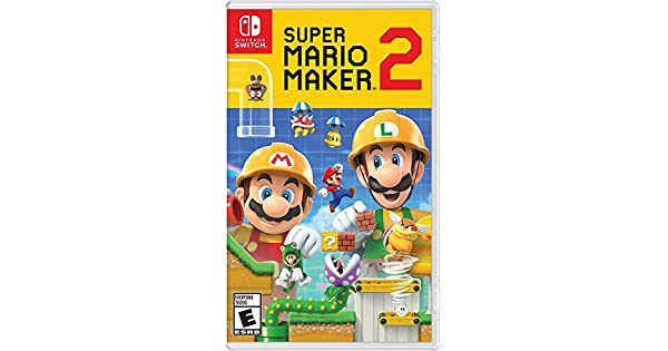 Amazon com: Super Mario Maker 2 - Nintendo Switch: Nintendo of