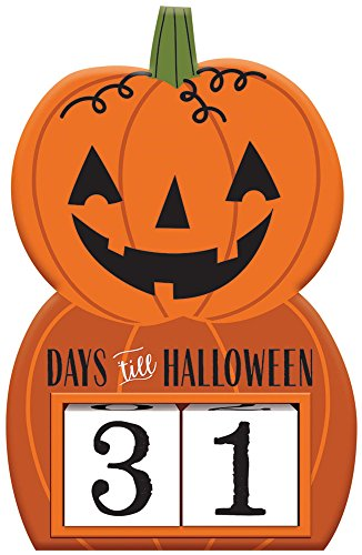 Days Left Until Halloween (Halloween Countdown Sign)