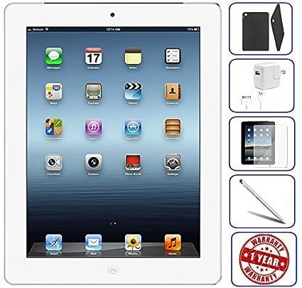 Apple iPad 4th Generation 9.7in 16GB 32GB 128GB Wi-Fi White Cellular Black