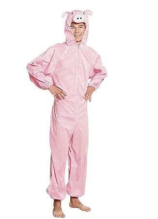 Boland 88412 Teenager - Disfraz de Cerdo de Peluche, One size ...