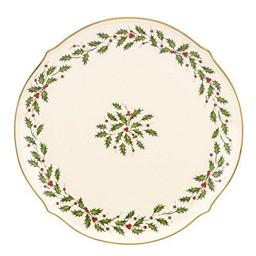 - Lenox Holiday Round Platter,Ivory,13