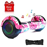 EPCTEK Hoverboard Two-Wheel Self Balancing Electric Scooter Hover Board for Adults Kids UL2272 Certified Smart Scooter with LED Lights Free Carry Bag
