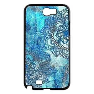 Teal Tribal Brand New Cover Case for Samsung Galaxy Note 2 N7100,diy case cover ygtg613993