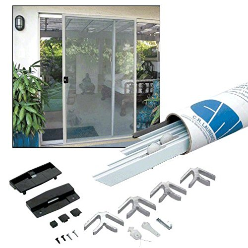C.R. LAURENCE KD13436X96W CRL White 37'' x 97'' K.D. Screen Door Kit by CR Laurence (Image #2)