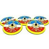 """5"""" 5枚セット マジックパッド サンディング パッド (ダブルアクション サンダー 用) ディスクグラインダー"""