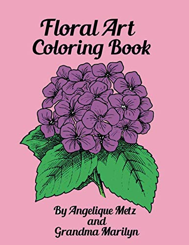 Floral Art Coloring Book