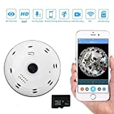 UK Wireless Wifi IP Security Camera 720P Indoor Home Surveillance Monitor System With 8G Memory Card