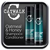TIGI CATWALK OATMEAL & HONEY SHAMPOO + CONDITIONER DUO 250ml and 300ml. by TIGI