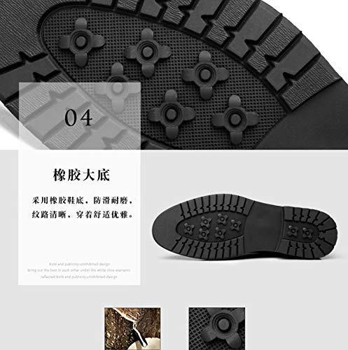 MON5F Home Home Home Herrenwerkzeug Stiefel Chelsea Stiefel Martin Stiefel Herren Trend Herren Stiefel Lazy Stiefel Herrenschuhe (Farbe   Plus Velvet schwarz, Größe   39) 583609