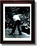 """Framed Bobby Knight - Indiana Hoosiers """"the Chair"""" Autograph Replica Print"""