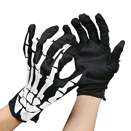 METFIT 1 Pair Halloween Gloves Halloween Costume Cosplay Accessories Gloves (Baby Halloween Contest 2017)