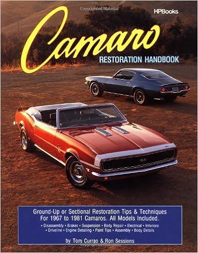 \\DOCX\\ Camaro Restoration Handbook HPBooks 758. Rewards Hombre apoyo removal deberan options village