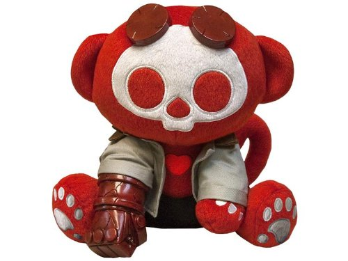 Skelanimals Toynami 2010 SDCC San Diego ComicCon Limited Edition Plush Figure Hellboy (Skelanimals Diego)