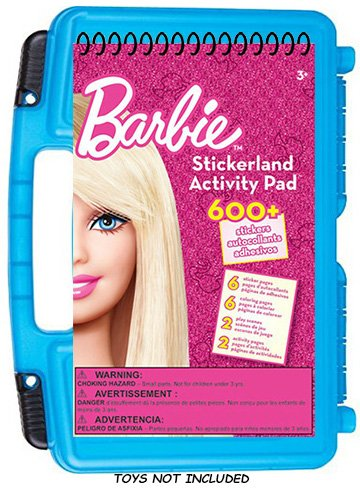 official-barbie-sticker-book-dolls-compatible-storage-organizer-stores-up-to-6-barbie-dolls-and-acce