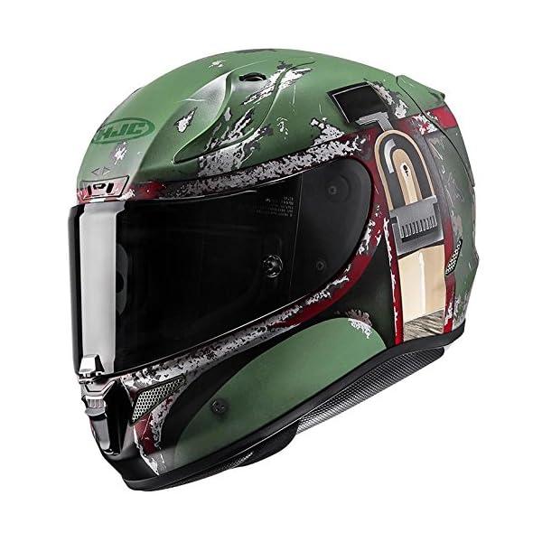 HJC RPHA-11 Pro Star Wars Boba Fett Helmet (MC-4F, Medium) XF-10-0803-1534-05 51uTEJOfAQL