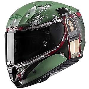 HJC RPHA-11 Pro Star Wars Boba Fett Helmet (MC-4F, Medium) XF-10-0803-1534-05