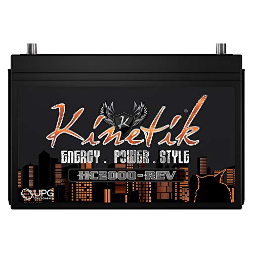 Kinetik HC2000-REV 2000 Watt 12V Car Battery/Power Cell High