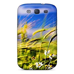 Tpu Case Cover Compatible For Galaxy S3/ Hot Case/ Flower And Weath