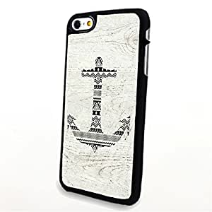 Generic Phone Accessories Matte Hard Plastic Phone Cases Stripes Aztec Anchor fit for Iphone 6 Plus