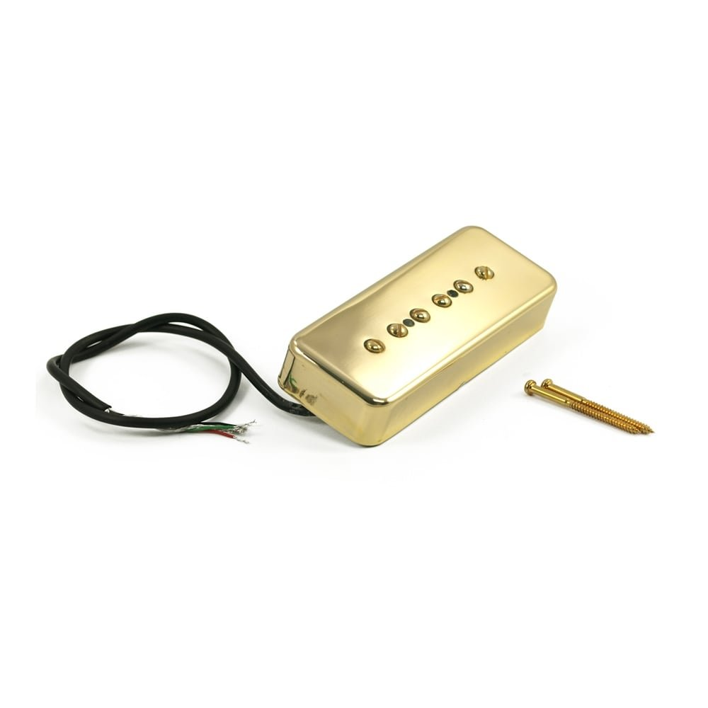 Kent Armstrong Stealth 90 Noiseless P90 Gold Cover Neck Amazonco Pickup Wiring Diagram Musical Instruments