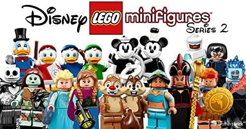 LEGO Disney Series 2 Collectible Minifigure Series - Complete Set of 18 (71024)