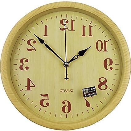 Amazon.com: Y-Hui Mute Wall Clock Children\'S Bedroom Living Room ...