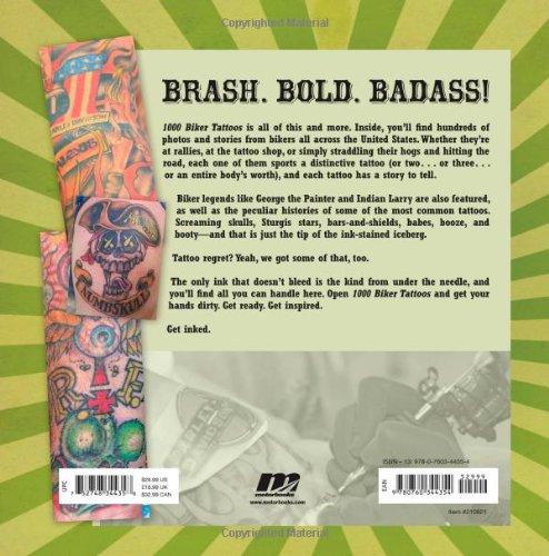 1000 Biker Tattoos: Sara Liberte: 0752748344358: Amazon com