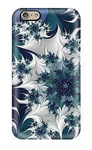 Best Hot Design Premium Tpu Case Cover Iphone 6 Protection Case(fractal) 7807739K79664998