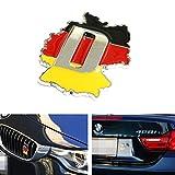 iJDMTOY (1) Germany Deutschland Map Shape Badge For European Cars Audi BMW MINI Mercedes-Benz Porsche Volksawgen Decoration