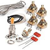 Golden Age Premium Wiring Kit for Gibson Les Paul Guitar