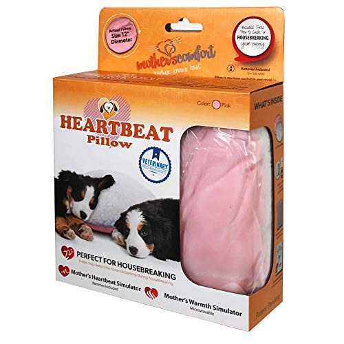 Heartbeat Pillow - (Pink and White) ()