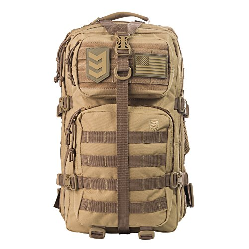 3V Gear Velox II Large Tactical Assault Backpack (Best Paintball Gear Bag 2019)