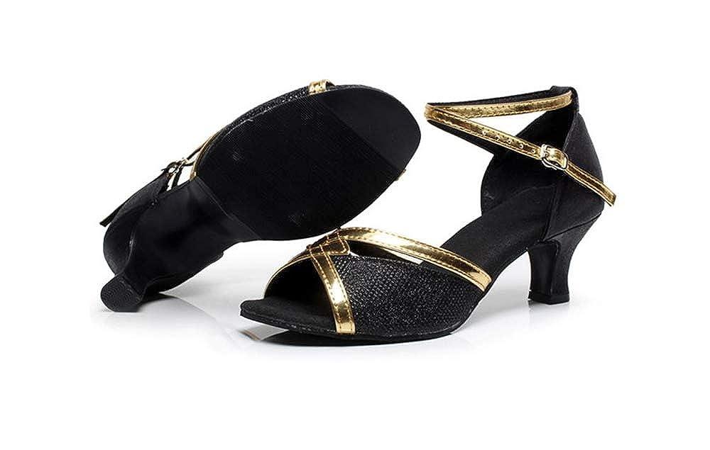 Kids Mary Jane Low Heel Pumps Dress Shoe Black with high 3CM-EU 37//5 M US Big Kid