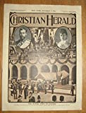 img - for Christian Herald Oct. 9, 1901; the Royal Visit to Canada by Duke and Duchess of Cornwall book / textbook / text book