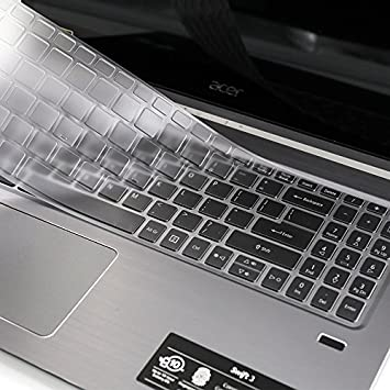 """Clear TPU Keyboard Protector For Acer 15.6/"""" SWIFT 3 SF315 with numeric keypad"""