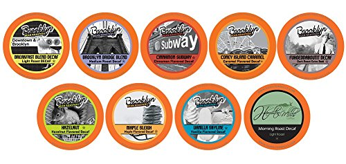 Two Rivers Decaf Coffee Pods, Compatible with 2.0 Keurig K-Cup Brewers, Variety Pack, 40 ()