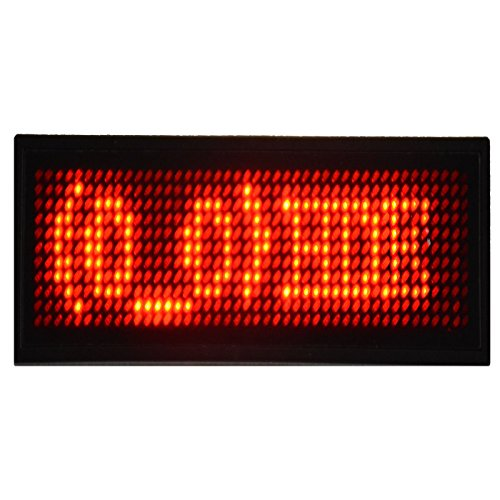 HDE Customizable Digital Scrolling Message