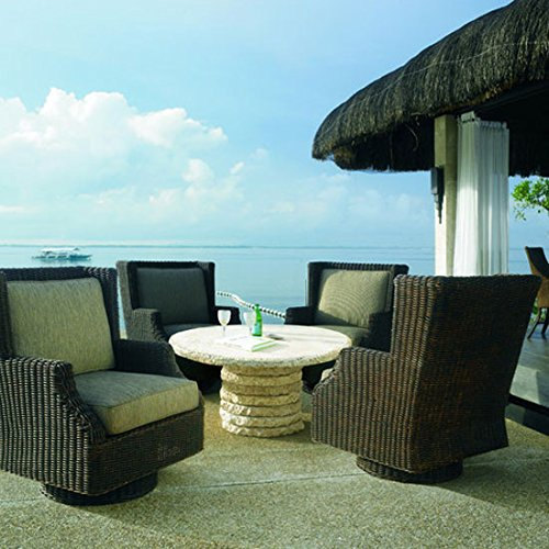 Padma's Plantation OL-TER28 Outdoor Terrace Swivel Rocker