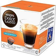NESCAFÉ Dolce Gusto Coffee Capsules – Lungo Decaffeinato– 48 Single Serve Pods, (Makes 48 Cups) 48 Count