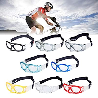 ZHABB Impact Resistant Breathable Protective Glasses Basketball Football Tennis Sports Safety Glasses.