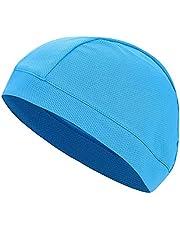 Helmet Liner Cap, Unisex Sweat-Wicking Under Helmet Liner Cap Sports Cycling Running Skull Hat Sun Protection Headwear