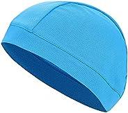 Helmet Liner Cap, Unisex Sweat-Wicking Under Helmet Liner Cap Sports Cycling Running Skull Hat Sun Protection