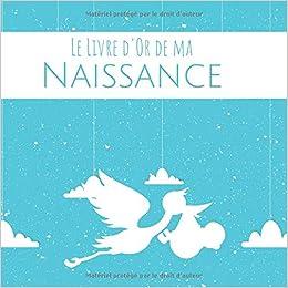 Le Livre D Or De Ma Naissance Cadeau Naissance Personnalise