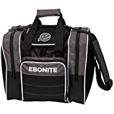 Ebonite Impact Plus Shoulder Bag Impact Plus Shoulder Tote Bowling Bag, Smoke For Sale