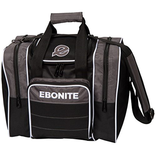 Ebonite Impact Plus Shoulder Bag Impact Plus Shoulder Tote Bowling Bag, Smoke
